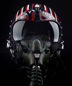 Top Gun movie helmet for Mavrick Jet Fighter Pilot, Air Fighter, Fighter Jets, Top Gun Film, Top Gun Movie, Military Jets, Military Aircraft, Tomcat F14, Photo Avion