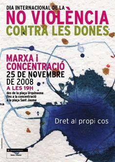 25n 2008   cartell Dia Internacional per la no Violència contra les Dones i les Nenes - http://martadarder.com/25n-2008-cartell-dia-internacional-per-la-no-violencia-contra-les-dones-i-les-nenes/  -
