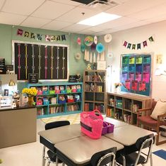I love this little corner of my room! I teach reading and always strive to have a comfy reading area for my students.