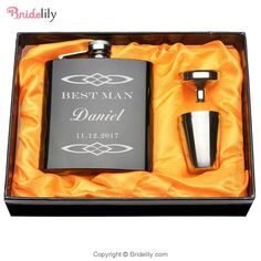 Brand New 1 Set Personalized Engraved 6 oz Black Hip Flask Stainless Steel Wedding Birthday Valentine's Day Gift Favors Style 17 >>> Check this awesome product by going to the link at the image. (This is an affiliate link) Personalised Hip Flask, Personalized Wedding Gifts, Stainless Steel Cups, Incense Cones, Custom Boxes, Glazed Ceramic, Fun Drinks, Valentine Day Gifts, Valentine Box