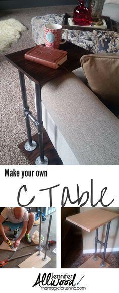 Pin it: Armchair Table | The Magic Brush Inc