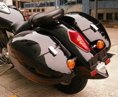 I really want these bags!  For my Honda VTX1300R