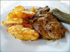 Limara péksége: Hagymás-mustáros tarja steak krumplival
