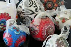 Christmas balls - an inspiration from tradition