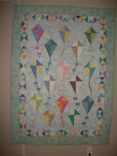 Fly a kite quilt (someday when I'm better with triangles ... : kite quilt pattern - Adamdwight.com