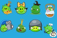 Free Angry Birds Piggie Clip Art #free