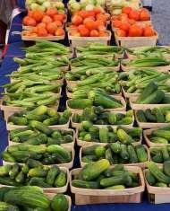 Farmers market joy