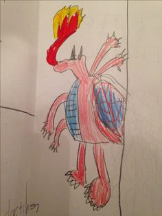 Dragon. Aprendiendo a dibujar by M 17