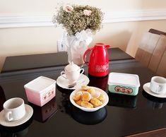 Segundo dia após o casamento, primeira mesa na casa ♥
