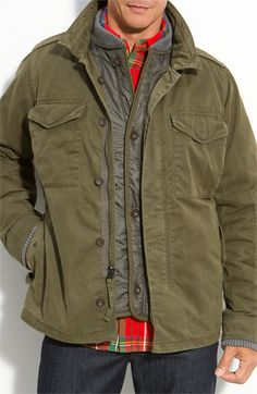 Relwen Waxed Combat Jacket