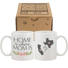 Promising review: 'The mug is absolutely perfect. I got it for my mom for Mother's Day and it is beautiful. The company was great about making sure the flowers were in the right locations on the states. I was so nervous that it wouldn't come out right, but it came out exactly how I wanted it! Such a great gift.' —Amazon CustomerPrice: $18.99