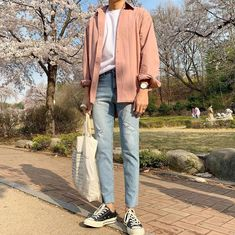 Mode Outfits, Korean Outfits, Trendy Outfits, Basic Outfits, Korean Fashion Men, Kpop Fashion, Fashion Outfits, Korean Men, Fashion Tips