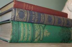 Great Authors Book Collection, Vintage Home Decor, Instant Book Collection, Old Books, Wedding - SOLD!