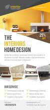 02 interior design rack card.  thumbnail