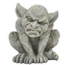 Angry Gargoyle Figurine#ilovetoshop