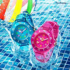 ICEhappy by Ice-Watch Kids Watch Strego Juwelier Summer item! http://www.strego.nl/s/cat--horloges/merk--ice-watch/