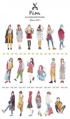 61 ideas drawing people girls fashion Source by ideas drawing Anime Outfits, Girl Outfits, Casual Outfits, Cute Outfits, Fashion Outfits, Fashion Illustration Sketches, Cute Illustration, Fashion Sketches, Drawing Fashion