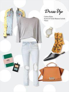 #FITUIN #casual #girlish #schoollook #mixandmatch #pointsocks #socks #fituin