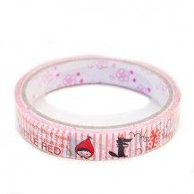 Deco tape little red - ruban adhésif décoratif scotch tape petit chaperon rouge  enfants : My Little Bazar.