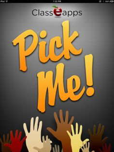 Pick Me App: Random Student Picker. Tracks students' answers over time.