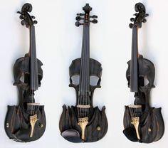 Skull Violins