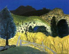 Milton Avery - Green Landscape, 1945