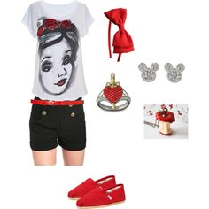 Snow White, created by calledbylove on Polyvore