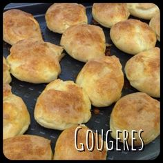 gougères_magimix Griddle Pan, Hamburger, Biscuits, Muffin, Beef, Cooking, Breakfast, Food, Foie Gras