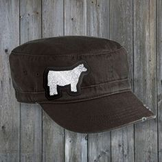 Show Steer Military Hat Livestock Judging, Showing Livestock, Show Cows, Show Steers, Show Cattle, Military Cap, Scarf Belt, Ffa, Cute Hats
