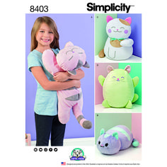 Fleece stuffed kitties in all shapes and sizes are great gifts for your loved ones or yourself. What cat lover would not want them all!