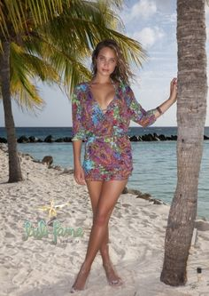 LULIFAMA: Tornasol Mini Beach Dress SHOP AT www.rosatocollections.com www.facebook.com/rosatocollectionsonline