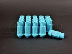 Function and Form Lug Nuts Tiffany Blue 12x1.5 Honda Toyota Lexus 20pcs