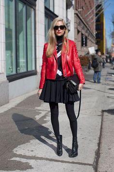 joanna hillman red moto jacket