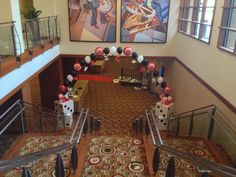 Casino balloon arch entrance Casino Theme Parties, Casino Party, Party Themes, Balloon Arch, Balloons, Prom Decor, Balloon Decorations, Holidays And Events, Entrance