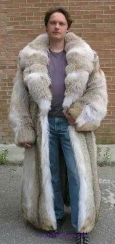 Big coyote coat