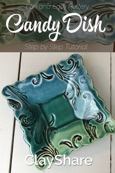 Learn how fun and easy it is to make your very own handmade square candy dish with our step by step tutorial. ClayShare has over 160 online pottery classes with hundreds of hours of HD video. Follow us for more great pottery projects, ideas, tutorials, tips and techniques.