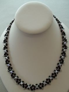 Perfect Storm Necklace PDF Bead Weaving by offthebeadedpath, $4.00