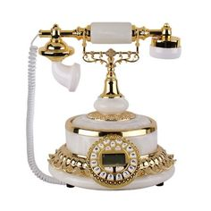 vintage phones old vintage telephone antique telephones retro telephone European Style aristocracy upscale metal phone telephones creative Antique Telephone genuine Vintage telephones uk lphone499-d99: Amazon.co.uk: Office Products