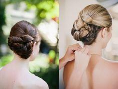 Свадебная прическа пучок | hairwiki.ru
