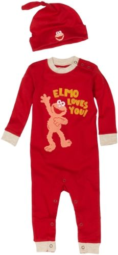 I hate character clothes but this isn't too bad :) Esp since baby is loving Elmo!