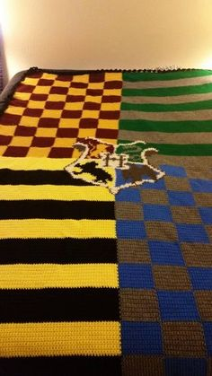 Harry Potter Blanket - which house did you get sorted into?