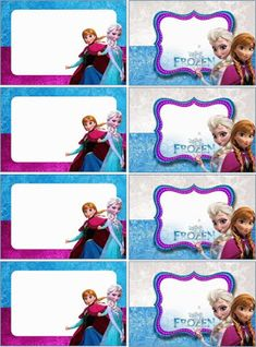 O Tapete Vermelho da Imagem: Images' Red Carpet: Etiquetas escolares de Frozen / Frozen school labe. Happy Birthday Tag, Frozen Birthday Party, Frozen Party, Tags Frozen, Frozen Book, Frozen Frozen, Disney Frozen, Name Tag For School, Notebook Labels