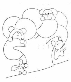陶芝妖妖_新浪博客 Bear,rabbit,cat and rabbit applique bag