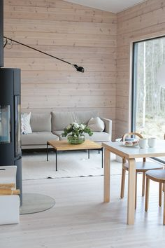 Finland, Dining Bench, Cottage, Living Room, Future, Interior, Life, Inspiration, Home Decor