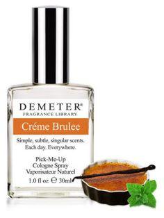 Demeter--crème brulee perfume