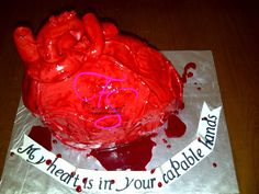 Heart cake for a surgeon