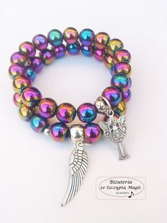 Hematyt :) Handicraft, Wire Wrapping, Wraps, Beaded Bracelets, Charmed, Gift Ideas, Gifts, Inspiration, Jewelry