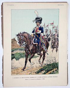 Le passepoil année 1921 – Bucquoy – Uniformes Armée Française