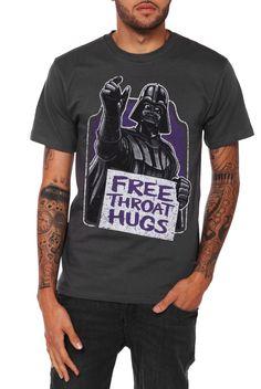 Star Wars Darth Vader Throat Hugs T-Shirt