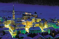 Badrutt's Palace Hotel in St. Moritz Switzerland ~ a Luxe Travel recommendation for a top ski resort